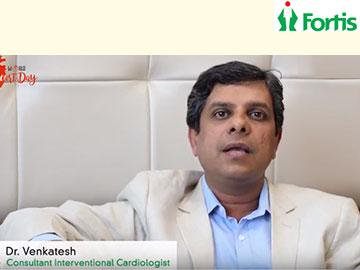 Dr. Venkatesh on World Heart Day