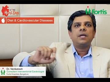 Dr Venkatesh - best complex angioplasties specialist at Fortis