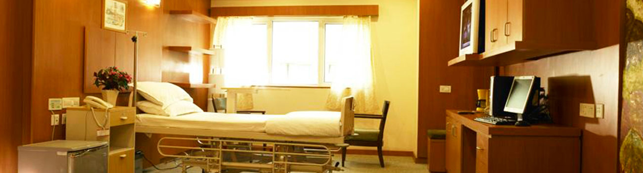 Accommodation facility in Fortis international care