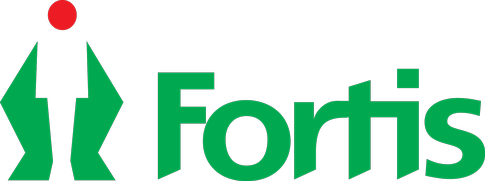 Multi-speciality hospital Fortis healthcare logo